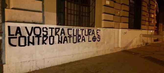 Roma, c'è chi dice no: proteste contro l'anti-cultura gay