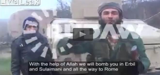 """ISIS prepara ragazzino kamikaze: """"Arriveremo a Roma"""" – VIDEO"""