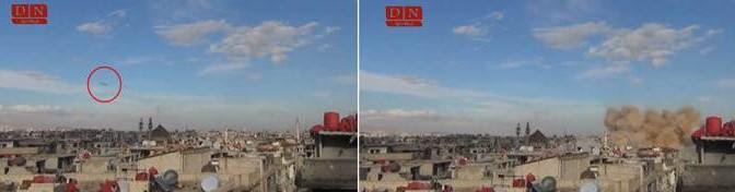 I missili di Assad fanno strage di miliziani islamici – VIDEO