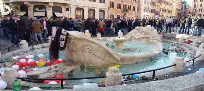 Rotterdam: trattamento vergognoso contro tifosi Roma