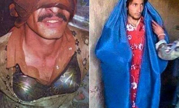 Miliziani islamici fanno il 'gioco del rispetto' per fuggire – FOTO