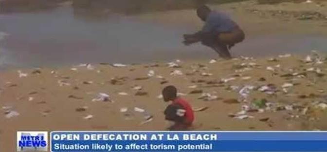 Ghana, turismo non decolla perché ghanesi cagano sulle spiagge – VIDEO