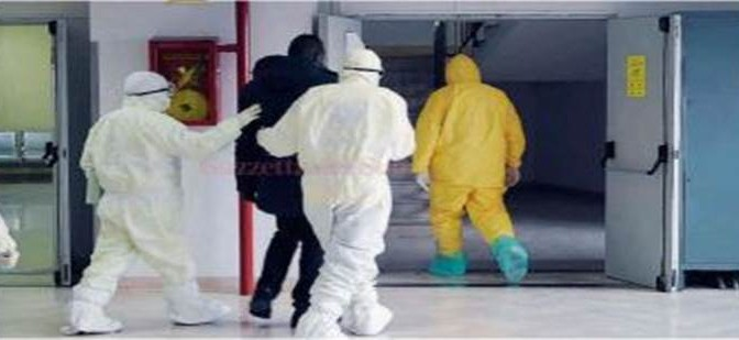 "Profugo in isolamento: ""Ebola"""