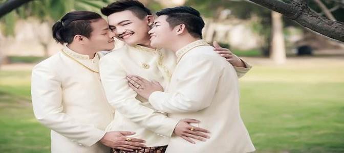 Nuove frontiere: arrivano le 'nozze gay' a tre