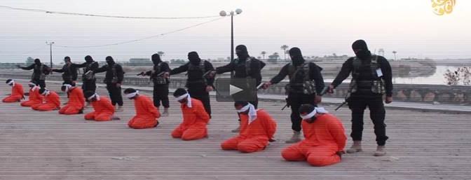 I boia islamici fanno strage di prigionieri