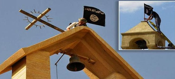 ISIS cancella i nomi cristiani a Mosul
