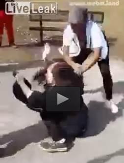 Brutale pestaggio razzista – VIDEO CHOC