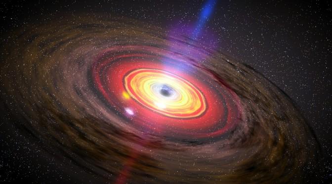 Un enorme buco nero agli inizi dell'Universo: come si è formato?