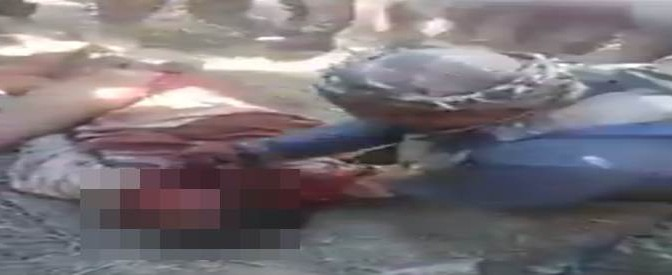 Crimini islamici: milizie sciite torturano brutalmente uomo – VIDEO CHOC