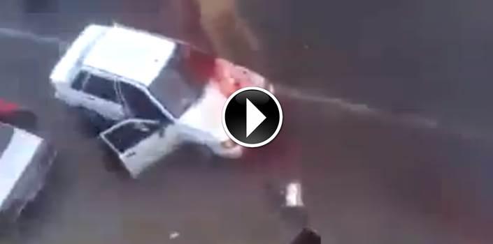 MACELLO ISLAMICO: LA DISPERATA FUGA DEL CAMMELLO – VIDEO