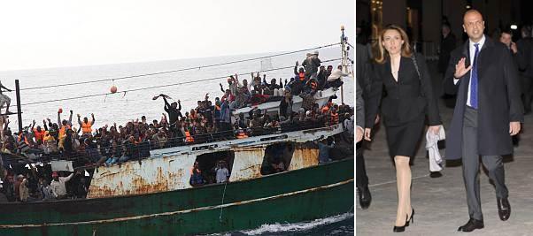 """Ministero Interno annuncia: """"200mila profughi in arrivo"""""""