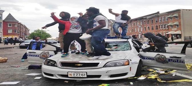 Baltimora devastata da africani: questa gente prendiamo sui barconi – TUTTE LE FOTO