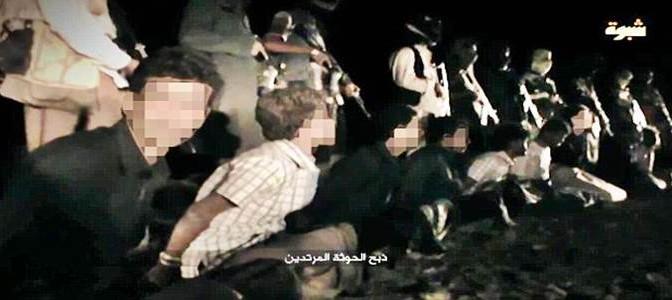 ESECUZIONE DI MASSA: ISIS DECAPITA 15 OSTAGGI