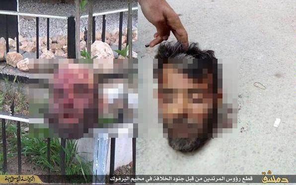 ISIS decapita due 'profughi' – FOTO
