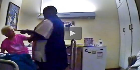 Infermiera africana maltratta anziana – VIDEO CHOC