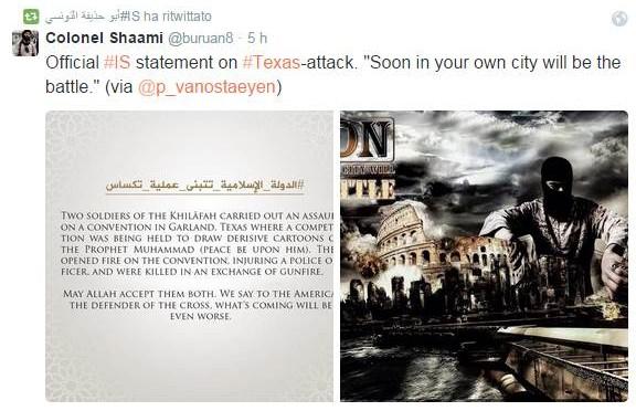 """ISIS: """"Sarà battaglia per le strade di Roma e Parigi"""""""