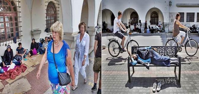 Isole greche invase da clandestini: turisti in fuga  – FOTO