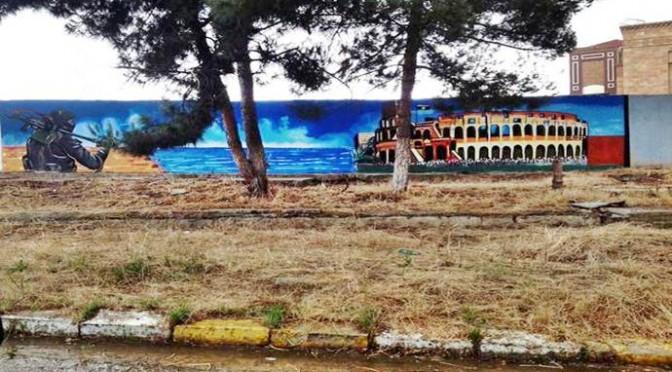ISIS ossessionata da Roma: murales del Colosseo nelle città irachene – FOTO