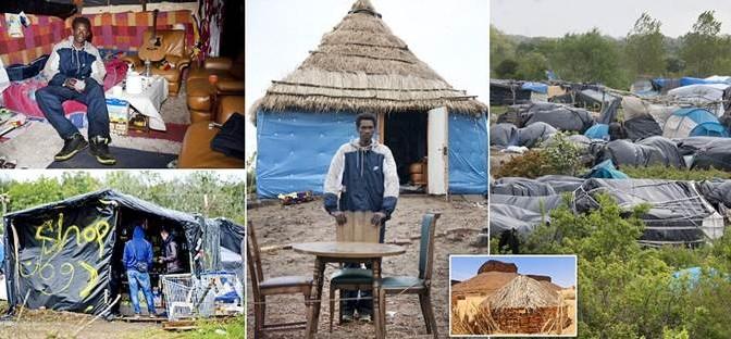 Africanizzazione: clandestini erigono capanne – FOTO