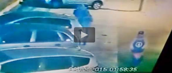 Ladri armati sbagliano auto: è quella di un agente, finisce così – VIDEO