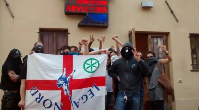 Tra i violenti con bastone anti-Salvini anche assessori del PD e 'guerrigliero' curdo