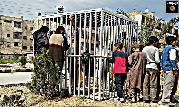 ISLAM, BRUCIATI VIVI IN GABBIE 12 CIVILI