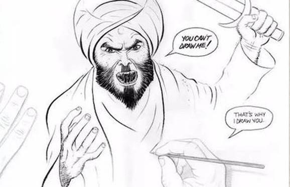 La vignetta che ha vinto il concorso colpito dai terroristi islamici – DIFFONDILA