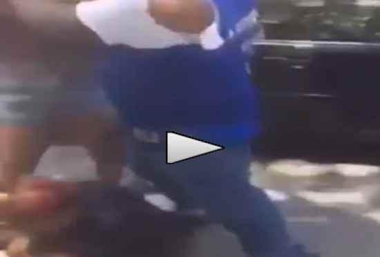 Disabile rapinato da africani – VIDEO