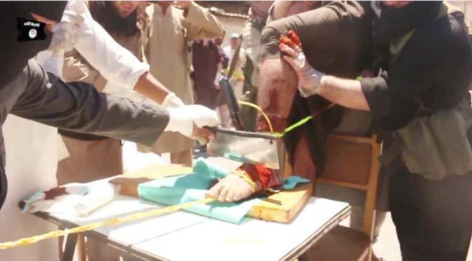 Profugo sbarcato in Sicilia è terrorista ISIS che ha amputato e decapitato bambini
