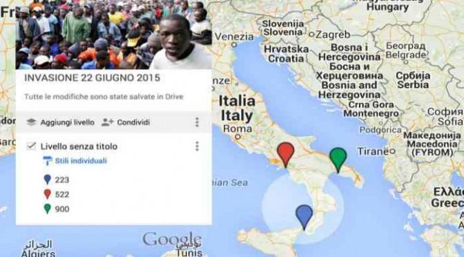 LA GRANDE INVASIONE: MARINE UE SCARICANO IN ITALIA 1.745 AFRICANI