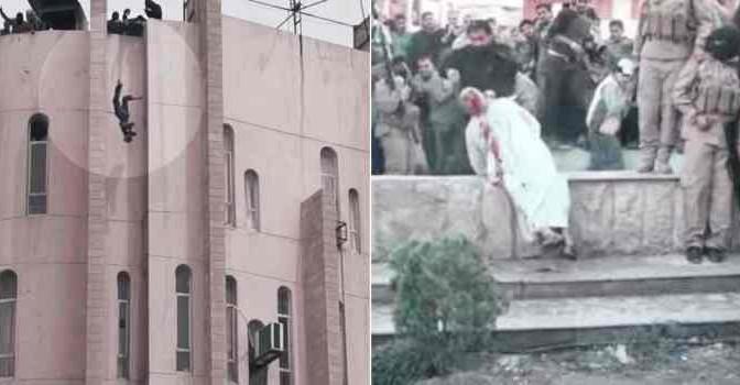 ISLAM: infedele martirizzato e gay lanciato da palazzo – VIDEO CHOC