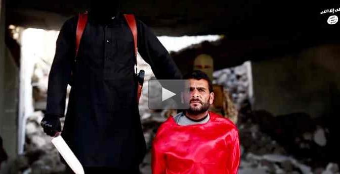 """Islamici sgozzano prigionieri: """"Sono spie"""" – VIDEO CHOC"""