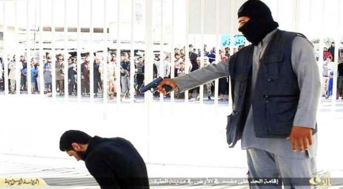 ISIS 'giustizia' un altro uomo – FOTO