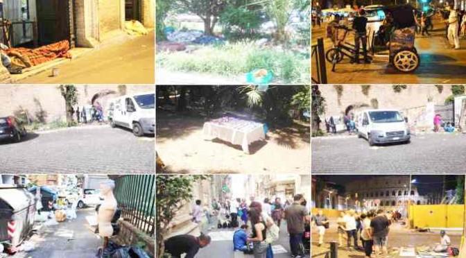Mafia Capitale in 9 foto: tra accampamenti, abusivi e Marino
