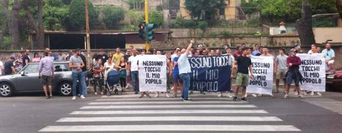 """""""I VERI PROFUGHI SIAMO NOI"""": PROTESTA A ROMA"""