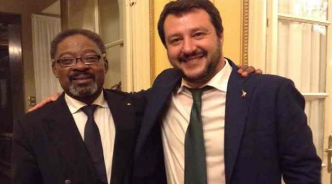 Salvini in visita al Rotary Club: il covo dei mondialisti