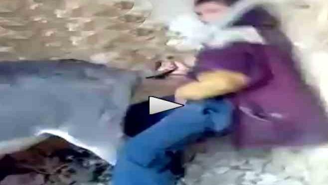 Islamico sorpreso a molestare sessualmente asino – VIDEO