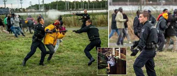 La 'Battaglia di Calais': orde di Africani all'assalto, 9 morti