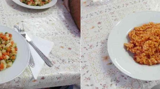 """Ecco il cibo che hanno rifiutato i """"profughi"""" di Este – FOTO"""