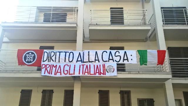 Firenze: blitz di Casapound nella palazzina da 4 milioni di euro