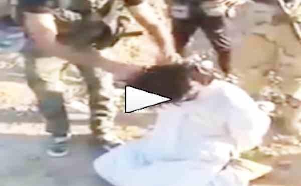 Soldati giustiziano miliziano islamico – VIDEO