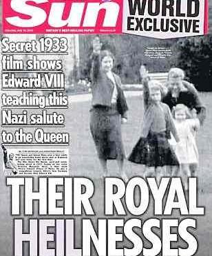 Scandalo in GB, per i 'reali nazisti' in foto di 80 anni fa…
