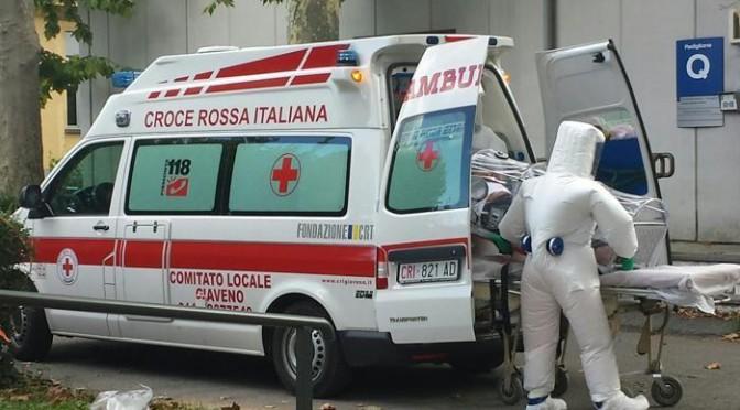 EBOLA: Africano trasferito in centro specializzato – FOTO
