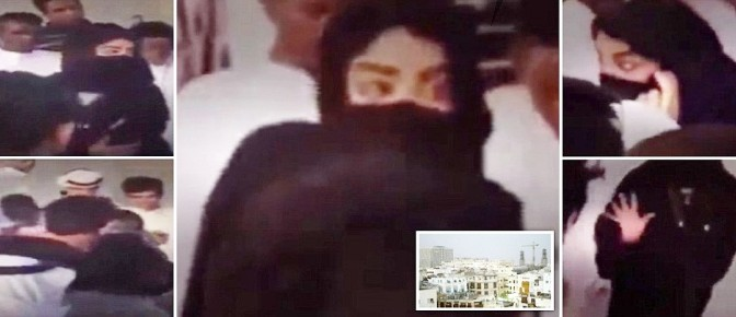 Donne circondate da islamici e molestate – VIDEO CHOC