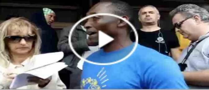 """Africano Cgil: """"Via da Italia chi non vuole migranti"""" – VIDEO"""