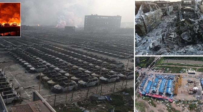 Esplosioni in Cina: il giorno dopo – VIDEO