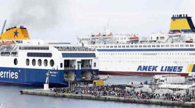 In arrivo navi da crociera con migliaia di clandestini islamici – FOTO