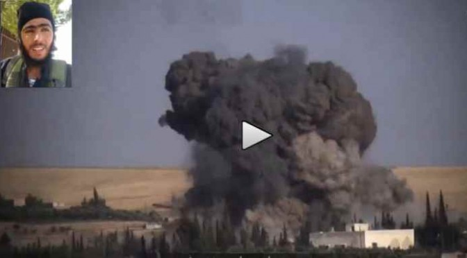 ISLAM: Kamikaze di ISIS si fa esplodere contro postazioni curde – VIDEO