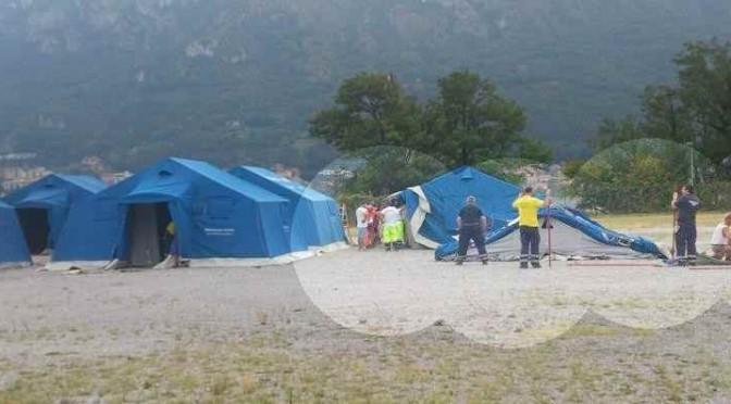 Lecco: hotel e tendopoli per i finti profughi di Renzi