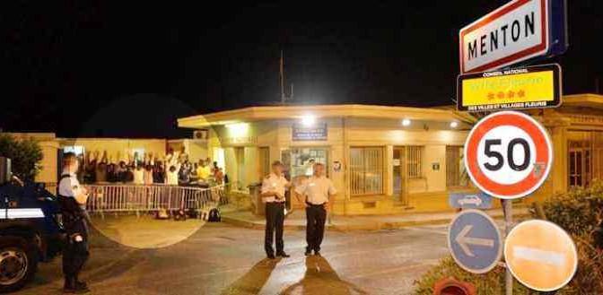Francia respinge 100 clandestini in Italia nella notte, subito in hotel